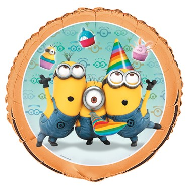 Minions Despicable Me - Foil Helium Balloon