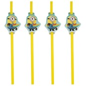 Minions Despicable Me - Minion Party Straws (24)