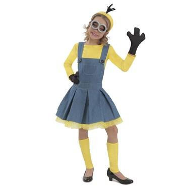 Minions Girl Jumper Kids Costume