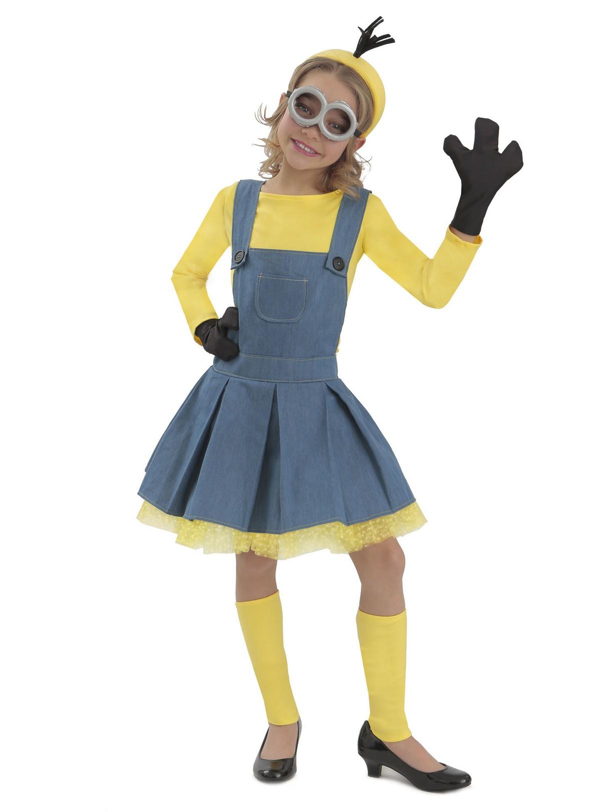minions girl jumper kids costume large image