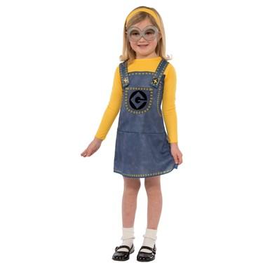 Minions Movie: Girls Minion Costume