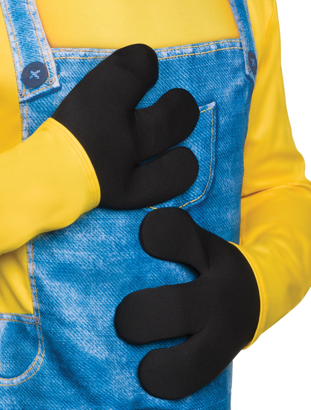 Minions Movie: Gloves For Minion Costumes Adult