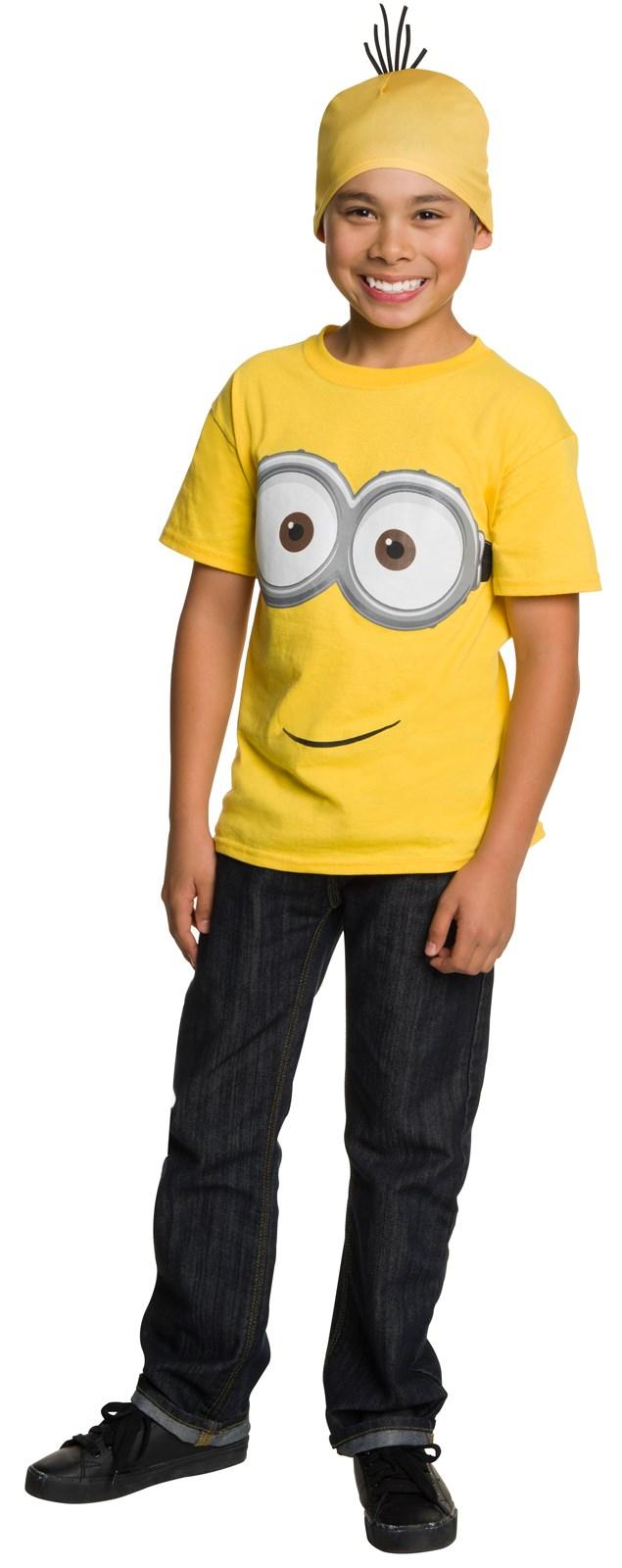 Minions Movie: Kids Minion T-Shirt & Headpiece