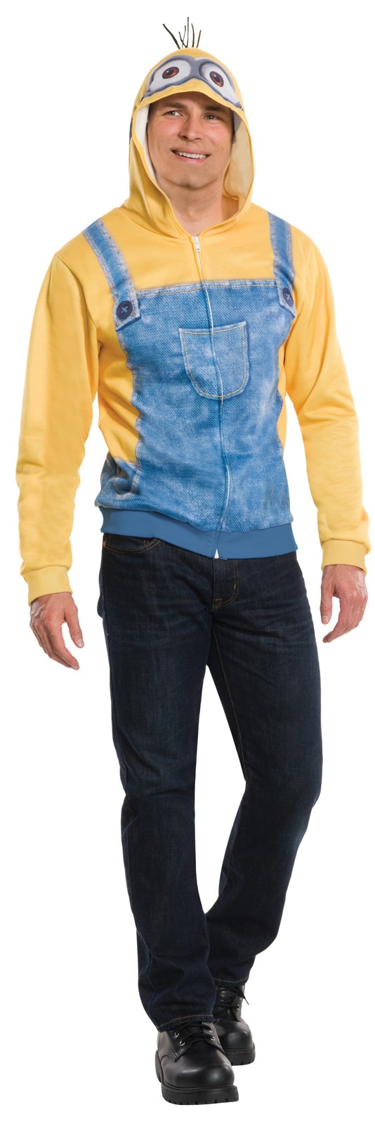 Minions Movie: Minion Hoodie For Adults