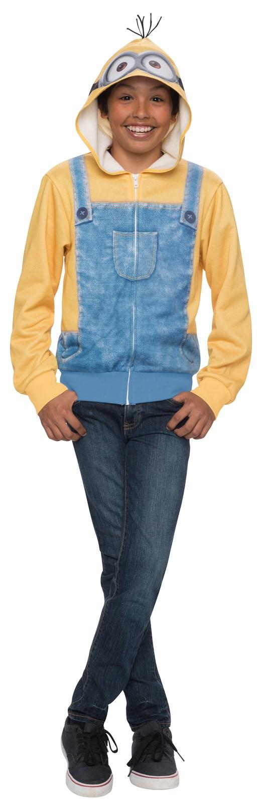 Minions Movie: Minion Hoodie Sweatshirt For Kids