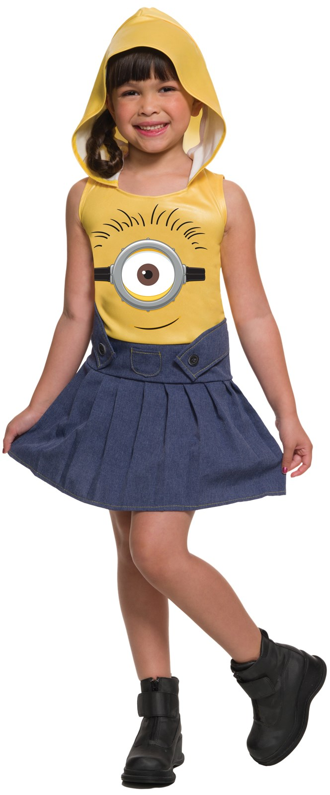 Minions Movie: Toddler Minion Face Dress