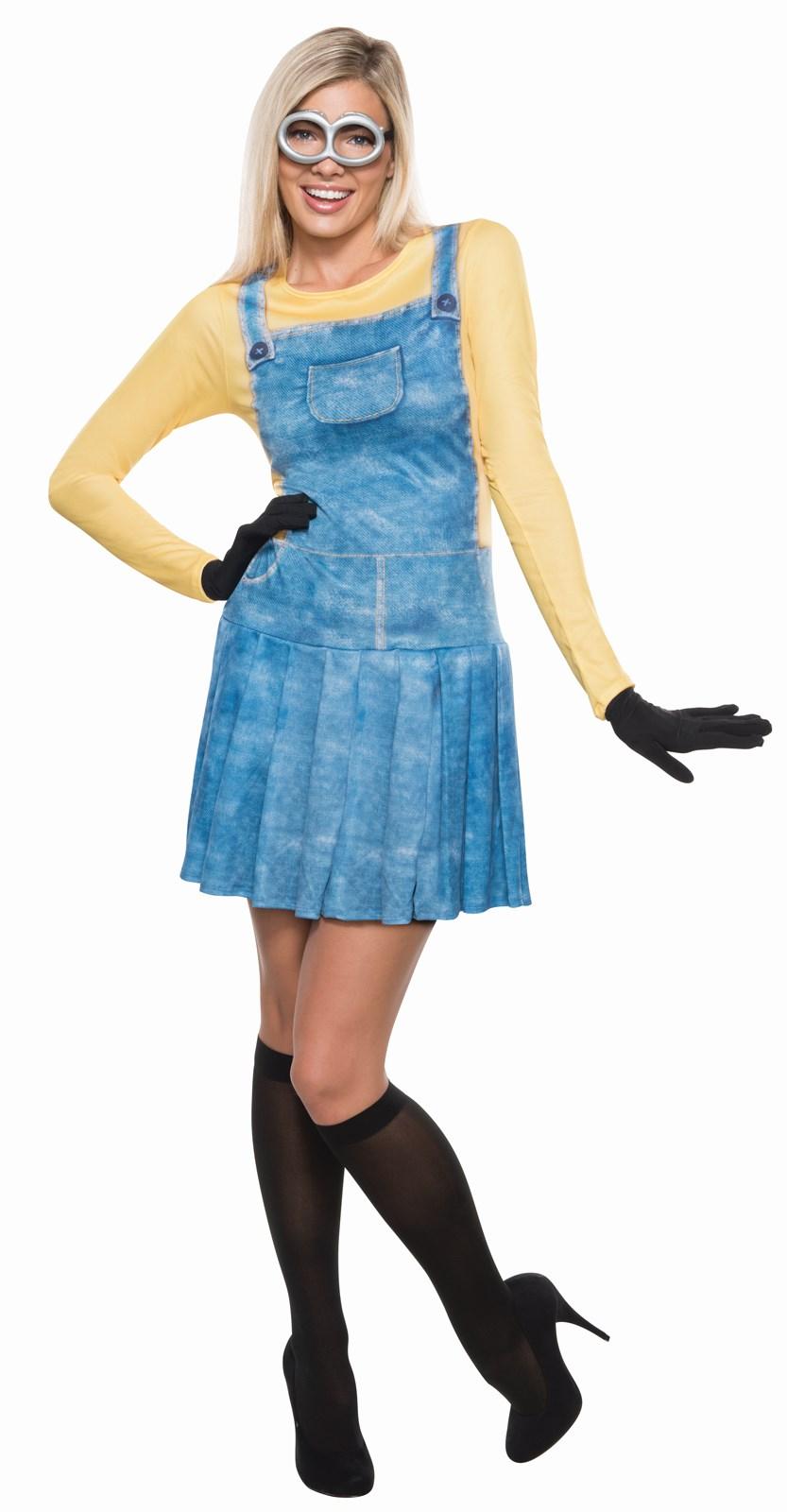 Minions Movie: Womens Minion Adult Costume