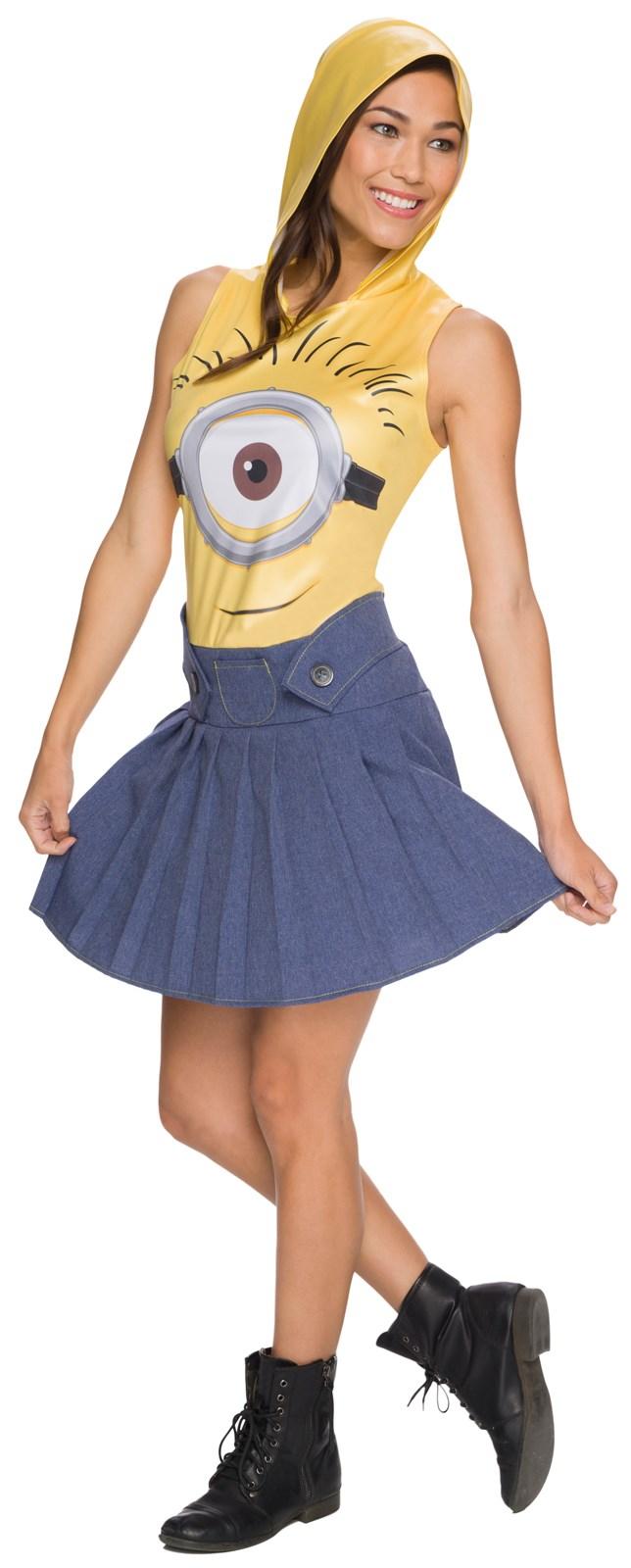 Minions Movie: Womens Minion Face Dress