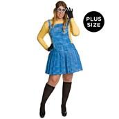 Minions Movie: Womens Plus Size Minion Costume