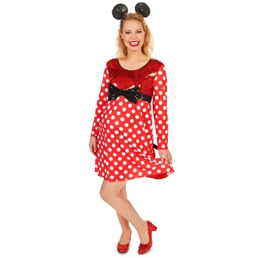 Mommy Mouse Maternity Adult Costume