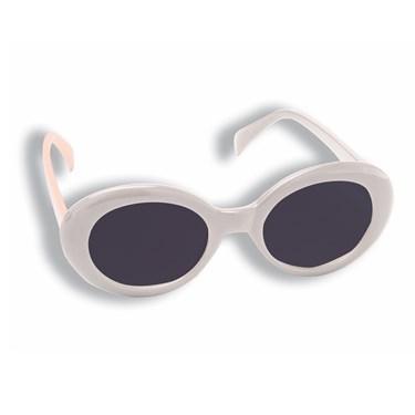 Mod White Sunglasses