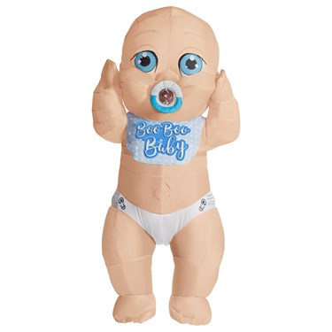 Momma's Boy Baby Inflatable Adult Costume