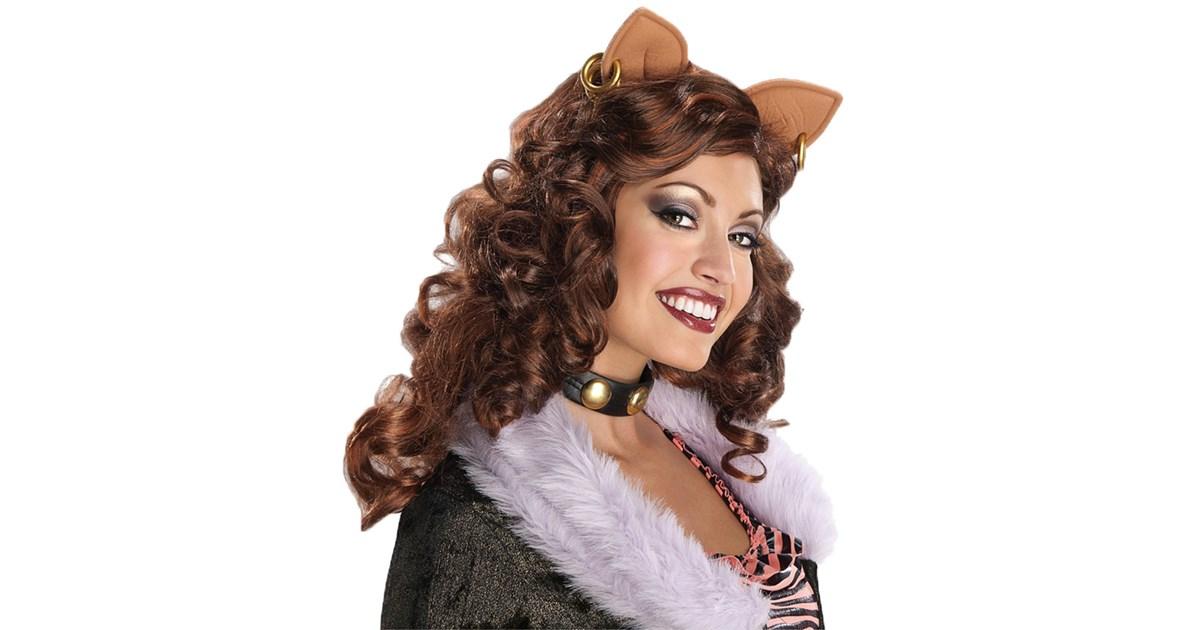 monster high clawdeen wolf adult wig buycostumescom - Womens Wolf Halloween Costume