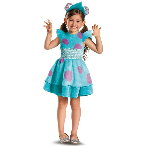 Monsters University Deluxe Sulley Costume For Kids