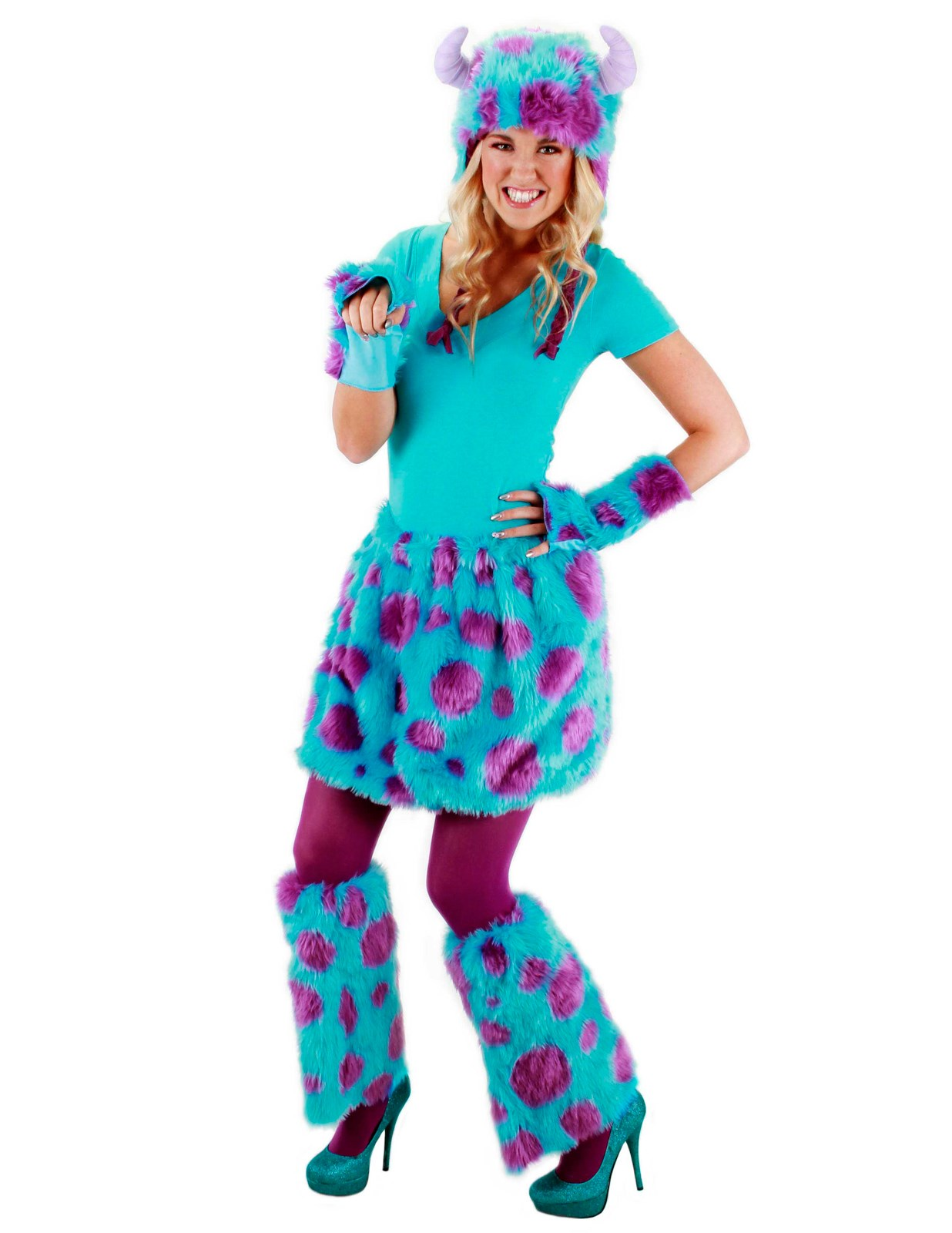 Monsters University Sulley Adult Deluxe Kit   BuyCostumes.com