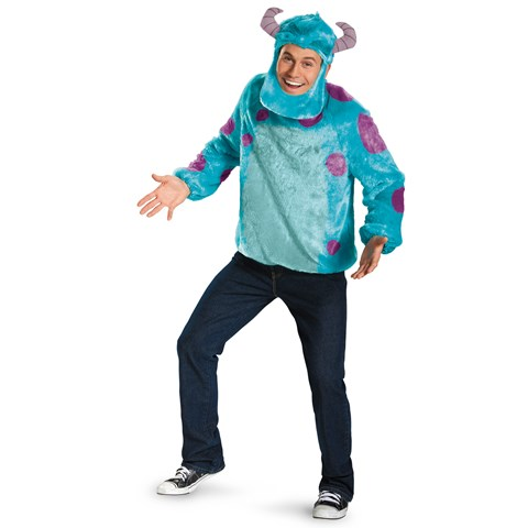 Monsters University Sulley Deluxe Adult Costume