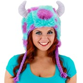 Monsters University Sulley Deluxe Adult Hoodie Hat