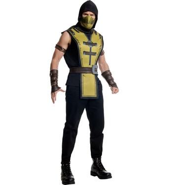 Mortal Kombat Scorpion Adult Costume