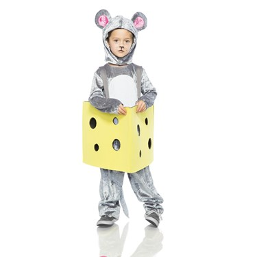 Mouse in Cheese Child Costume