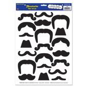 Moustaches Peel 'N Place