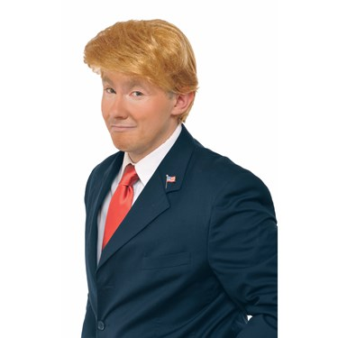 Mr. Billionaire President Adult Wig
