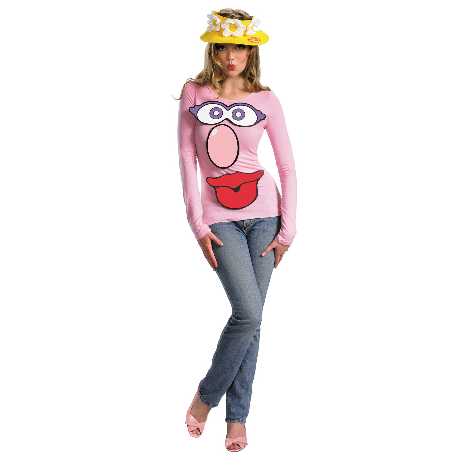 adult costume ms potatoe head