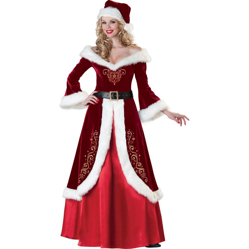 Santa suits claus costumes old fashioned