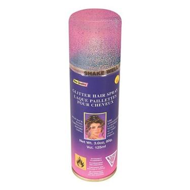 Multi Color Glitter Hairspray