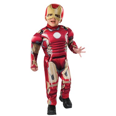 Muscle Chest Ironman Toddler Costume