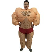 Muscle Man Inflatable Adult Costume