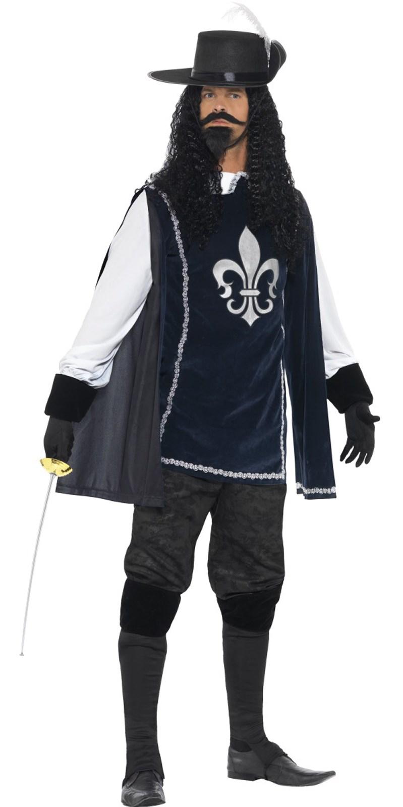 Musketeer Costume For Men
