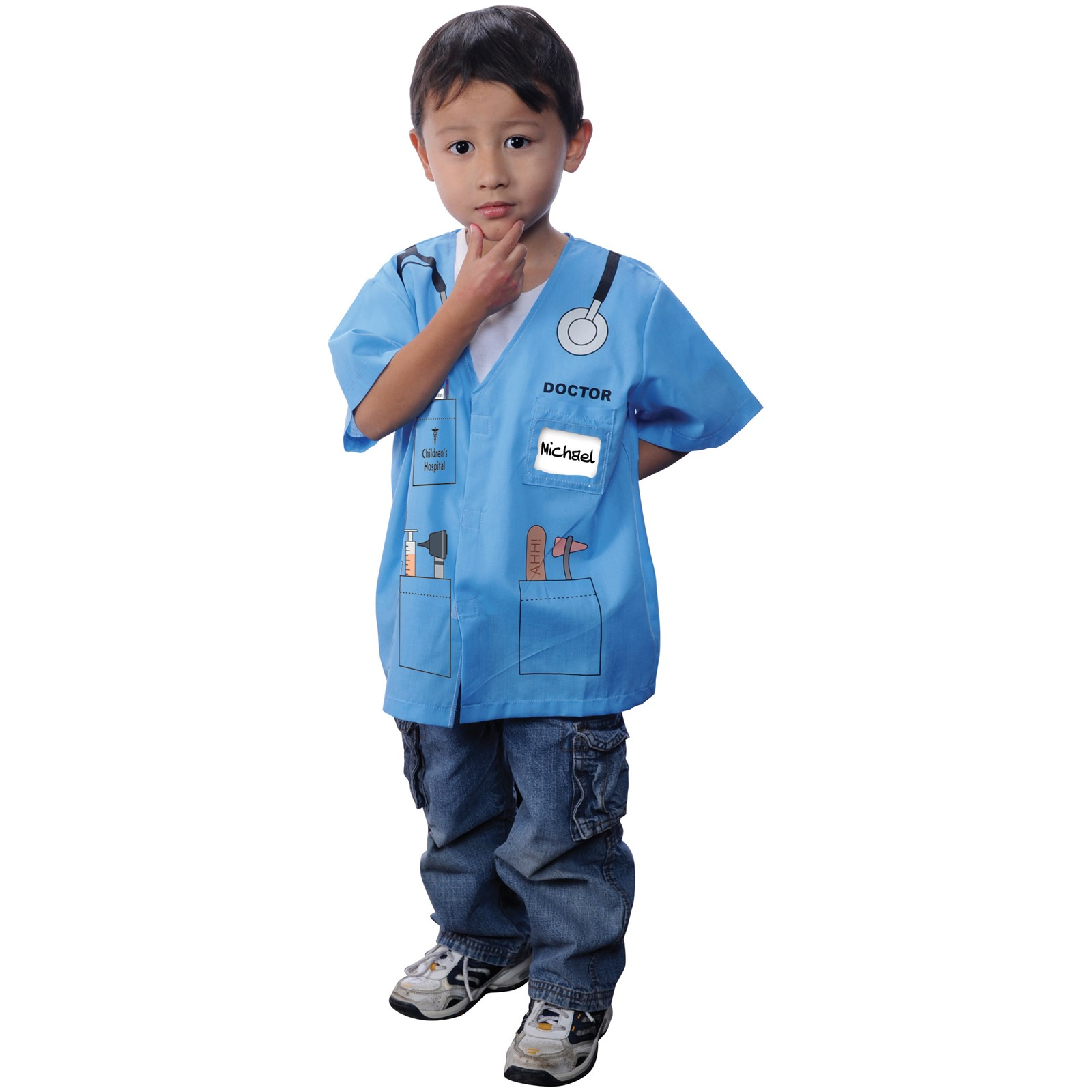 my first career gear doctor blue toddler costume com my first career gear doctor blue toddler costume