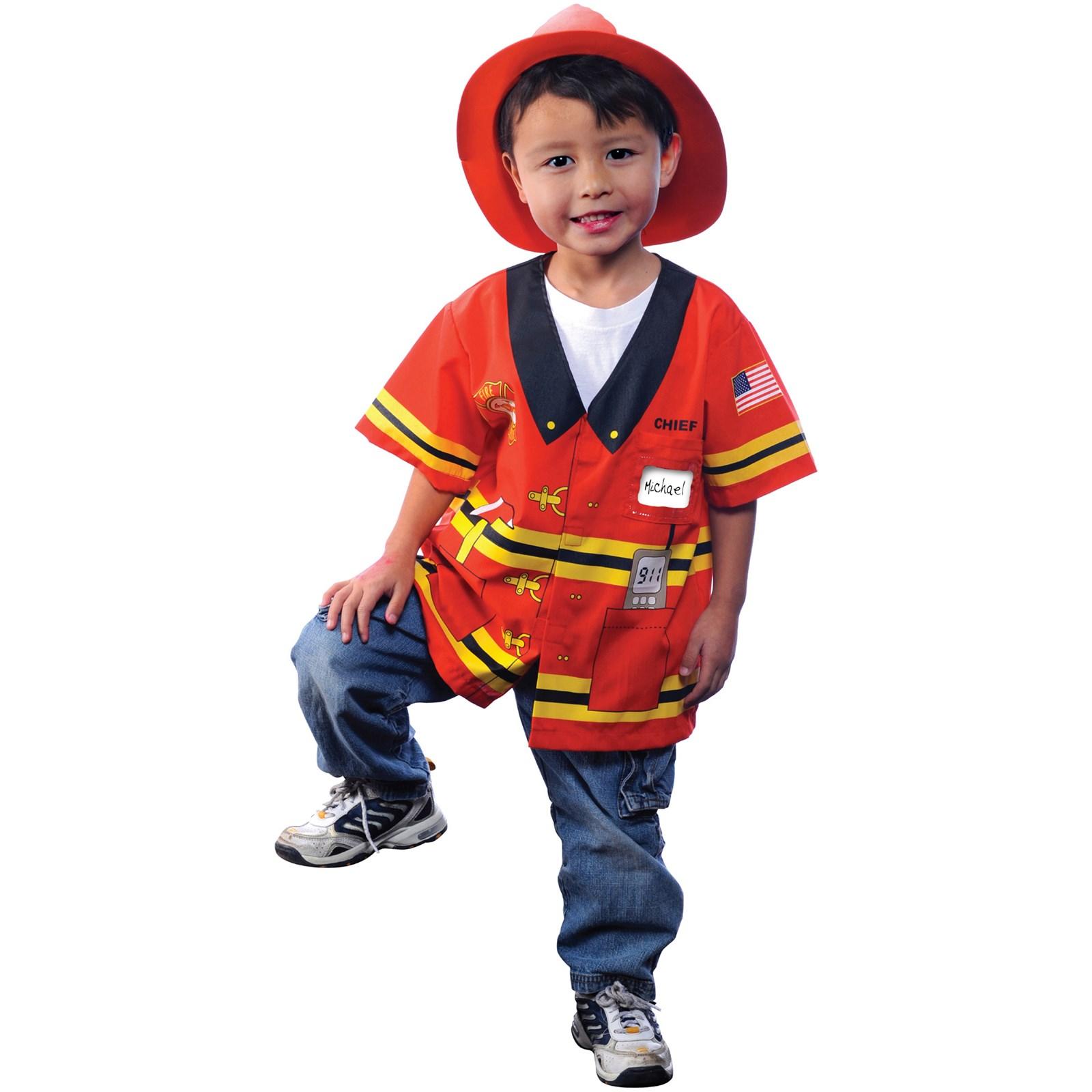 Костюм пожарного своими рук 98