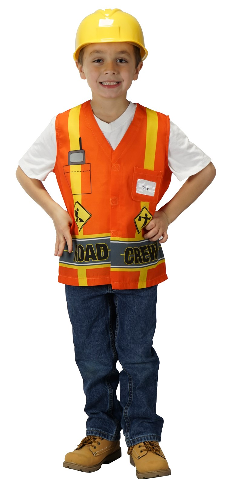 My First Career Gear Road Crew Toddler Costume