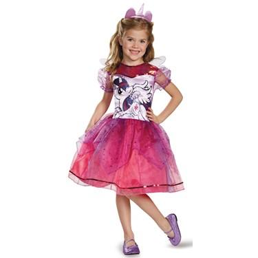My Little Pony Girls Deluxe Twilight Sparkle Costume