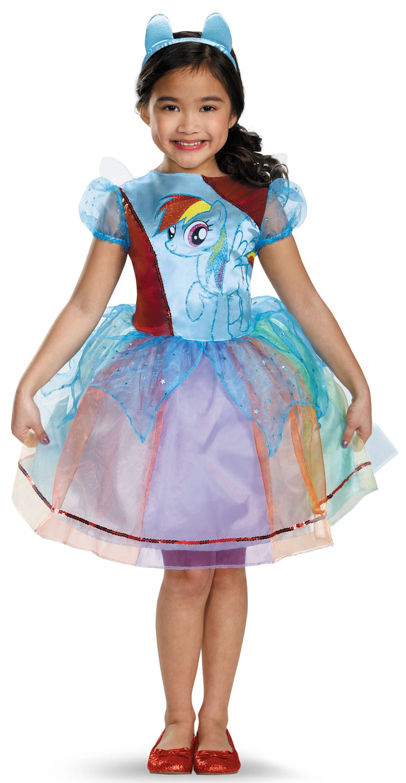 My Little Pony Rainbow Dash Deluxe Costume For Toddler Girls