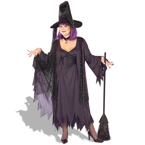 Mystic Witch Adult Plus Costume