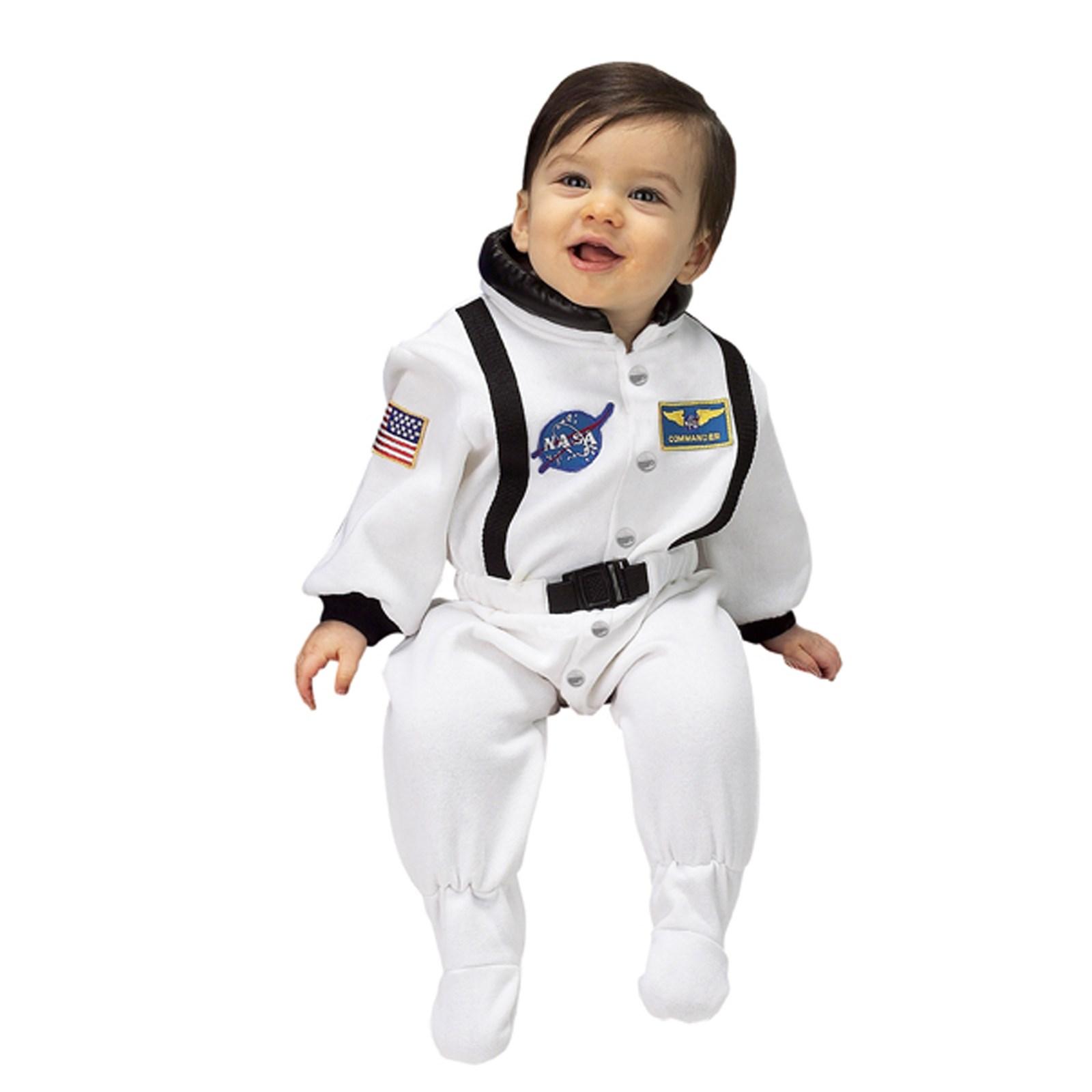 NASA Jr. Astronaut Suit (White) Infant Costume ...