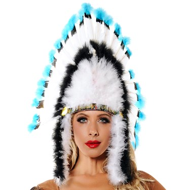 Native American Feather Headdress for Adults