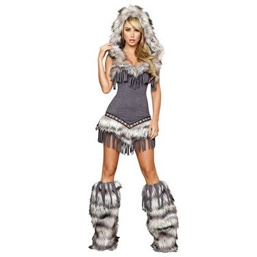 Native American Temptress Deluxe Indian Costume