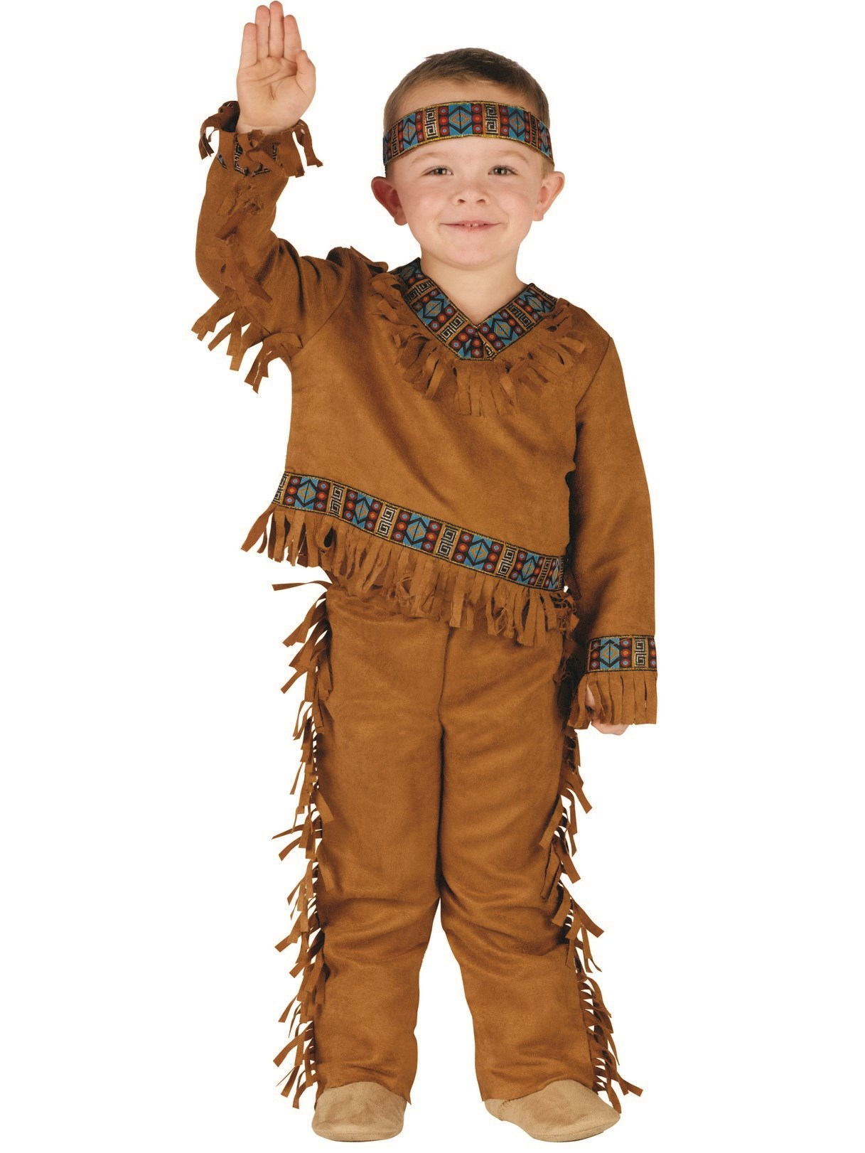 Native American Toddler Costume For Boys
