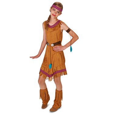 Native Princess Girl Tween Costume
