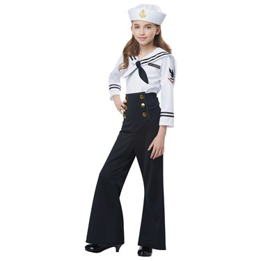 Navy / Sailor Girl's Costume