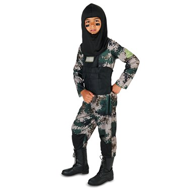 Navy Seal Child Costume with FREE BONUS