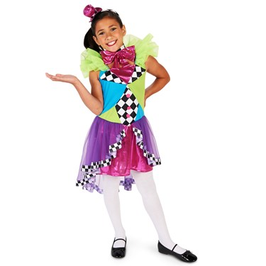 Neon Mad Hatter Child Costume