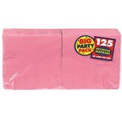 New Pink Big Party Pack - Beverage Napkins (125 count)