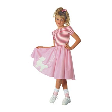 Nifty Fifties Child Costume