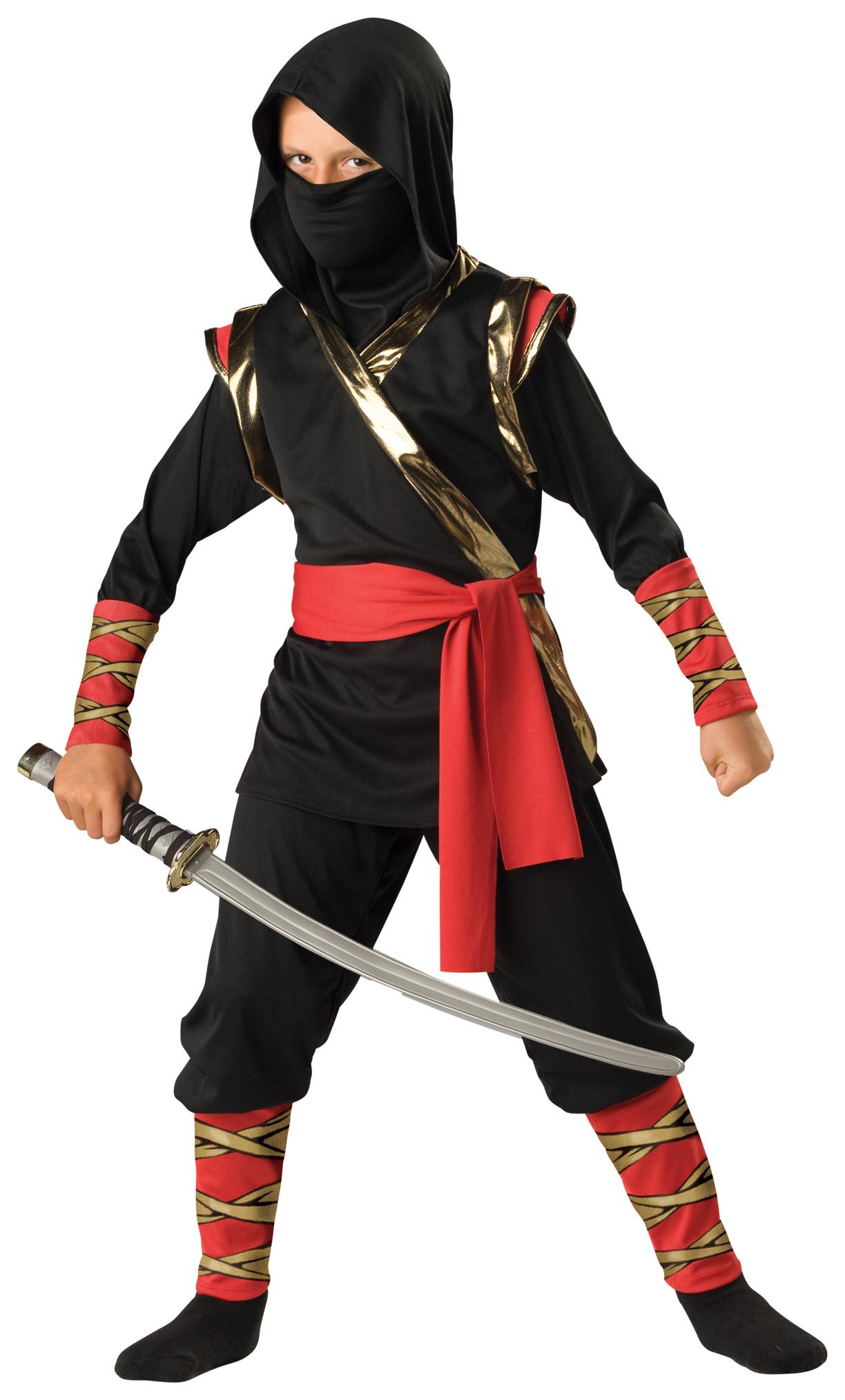 Новогодние костюмы ниндзя своими руками для мальчиков