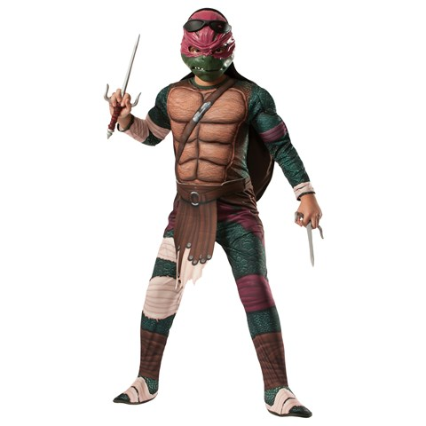 Ninja Turtles Movie Deluxe Raphael Child Costume