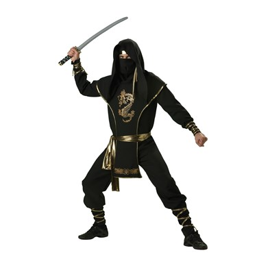 Ninja Warrior Elite Collection Adult Costume